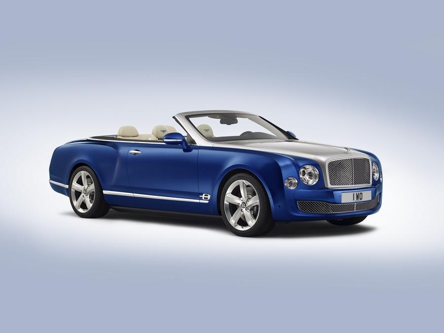 The Bentley Grand Convertible soft-top grand-tourer concept