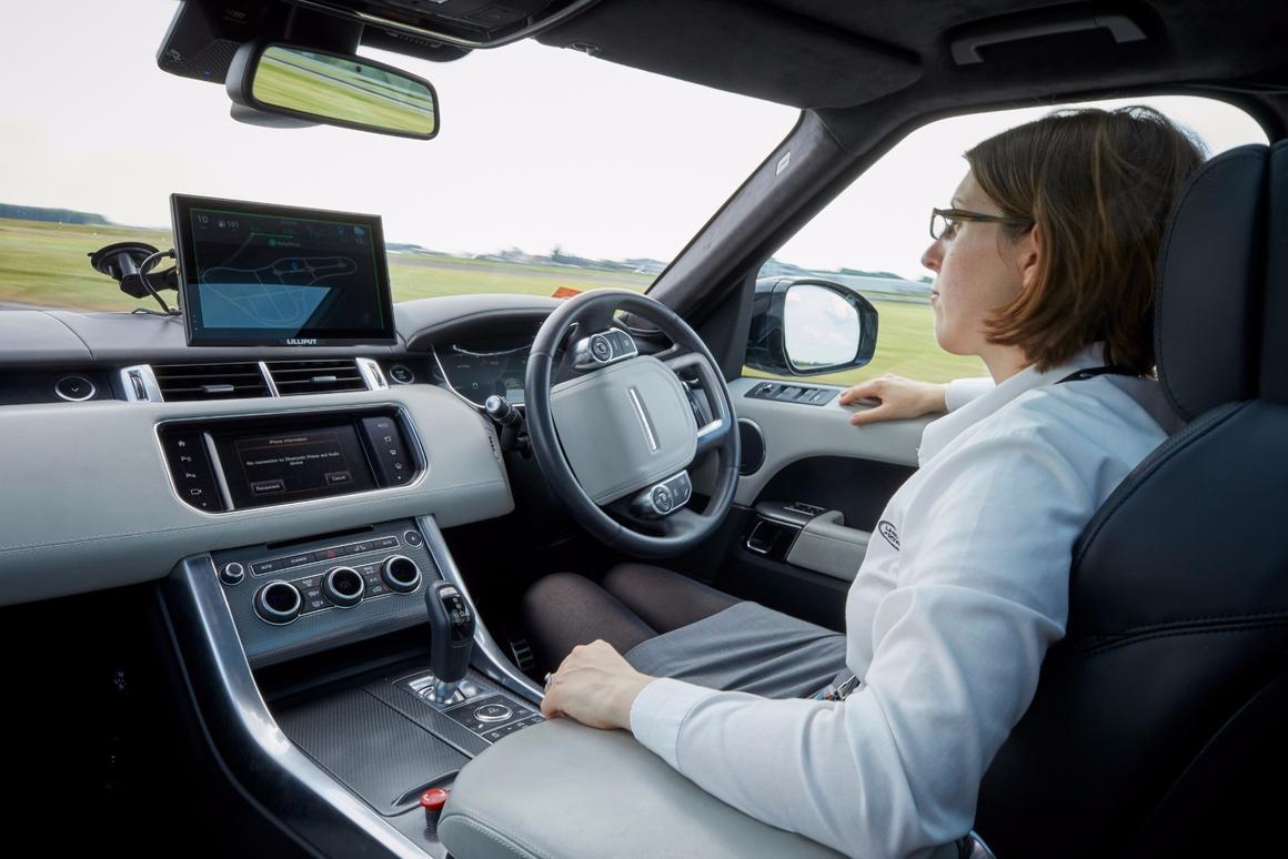 Jaguar Land Rover hopes to achieve level four autonomy within the next decade