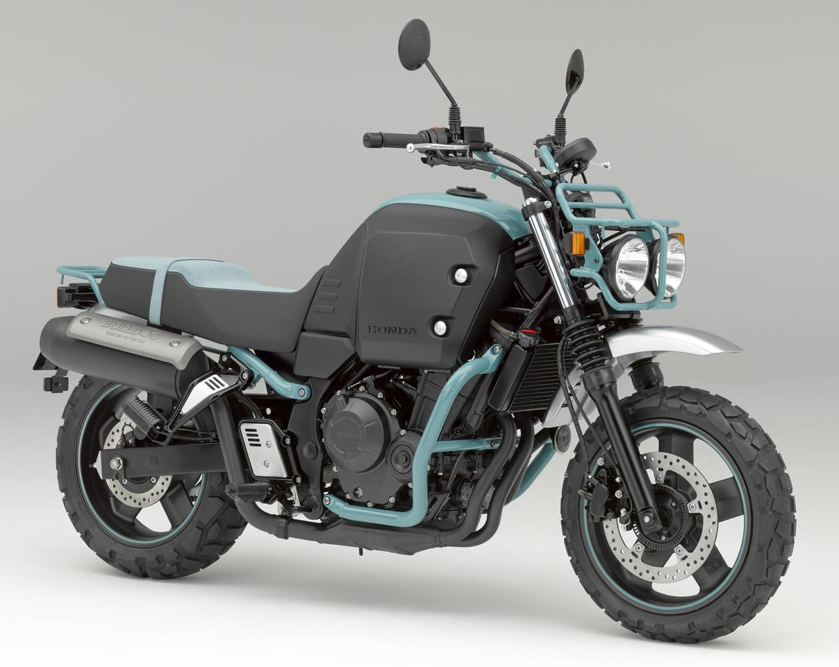 "Honda's Bulldog is billed in the company's press material as a ""Lovable Touring Partner"" - it makes lots of sense with its low seat height and practical layout for many uses"