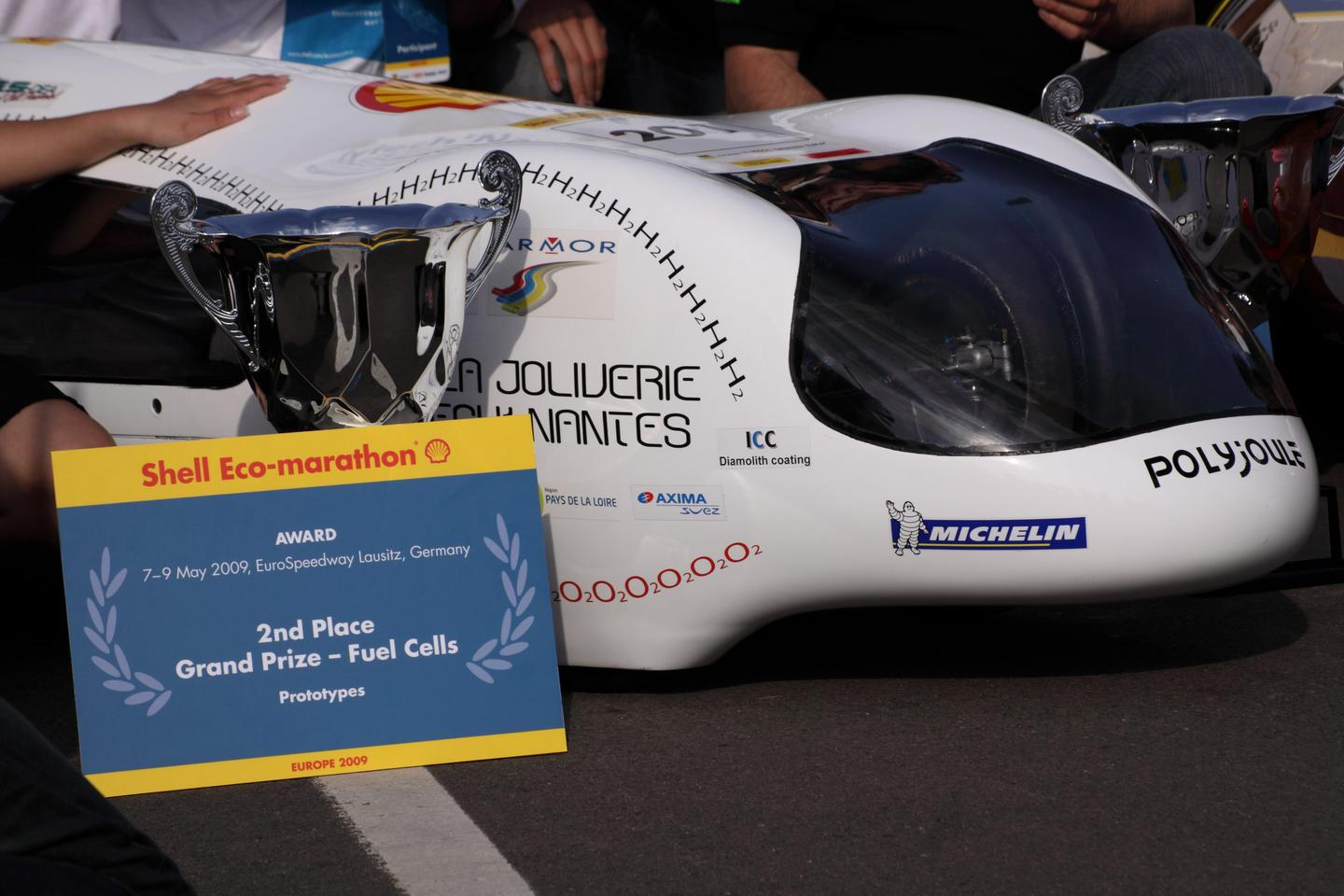 Team Polyjoule won second prize at last year's Eco Marathon