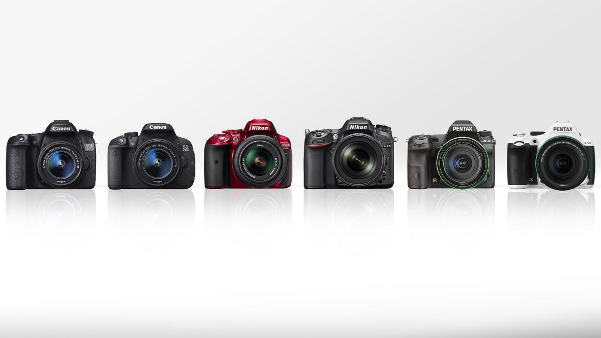 Gizmag compares some of the best mid-range DSLRs on the market