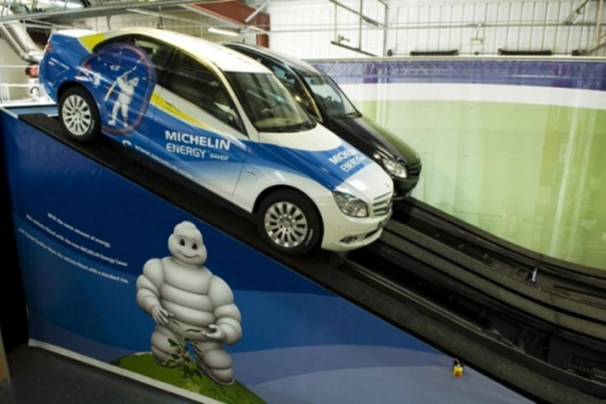 Michelin will demonstrate the benefits of its latest low-rolling resistance tyres
