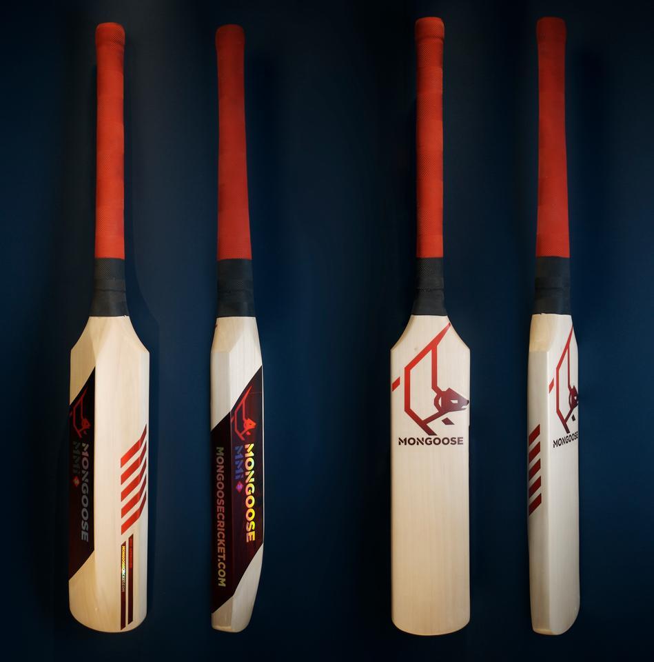 The Mongoose MMi3 cricket bat (Photo: Mat Hale)