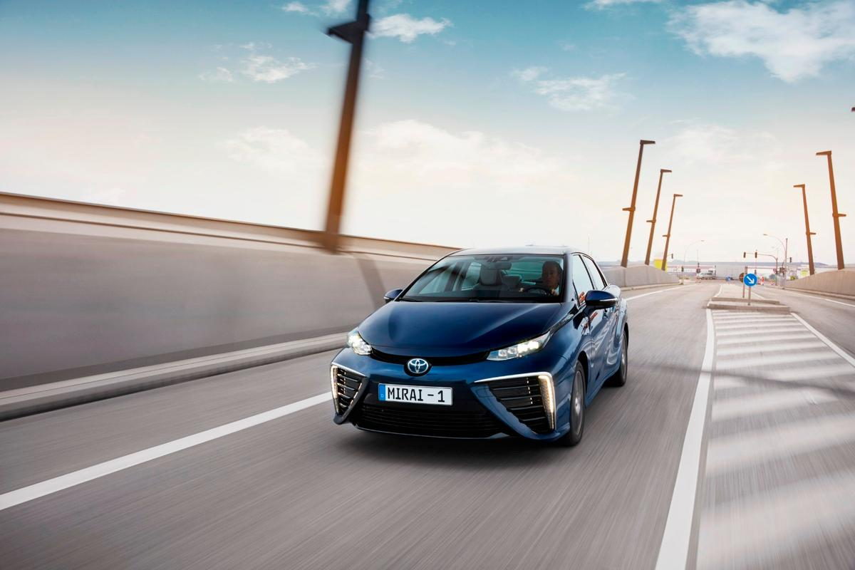 The Mirai reportedly performed with no mechanical breakdowns