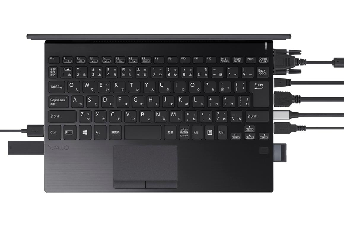 You may never need a multiport hub again with the Vaio SX12