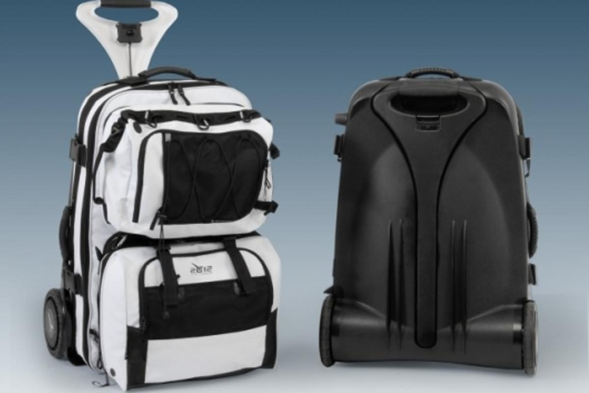 The Live Luggage 2012 - multifunctional luggage range with powered wheels and anti-gravity handle system