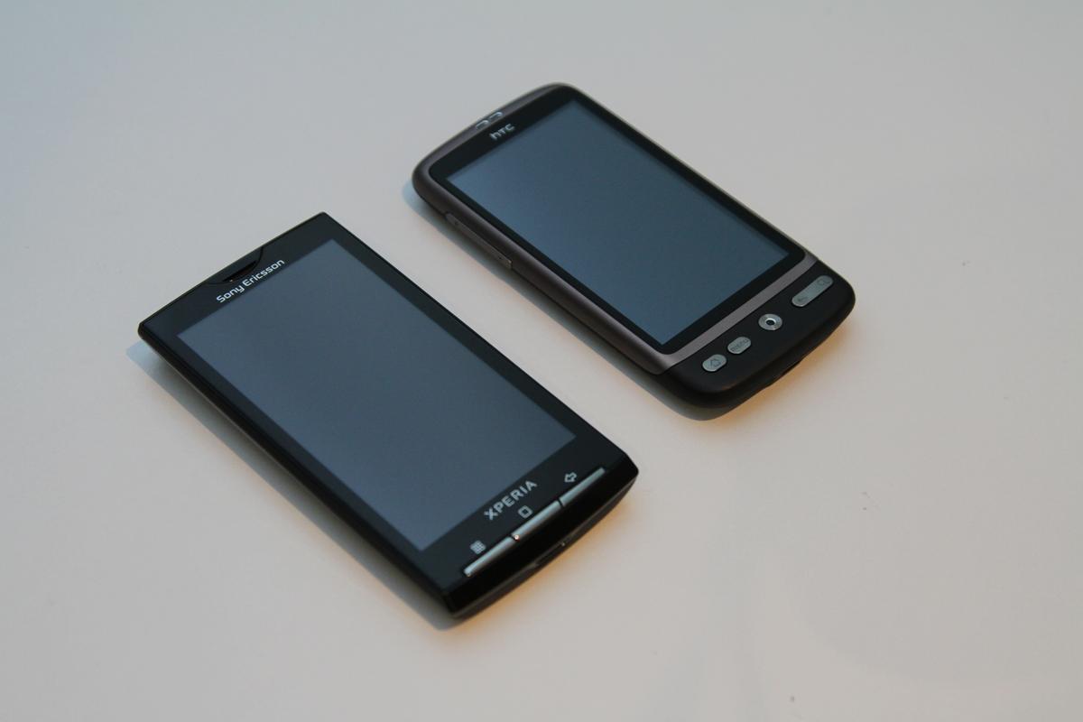 Review: HTC Desire vs Sony Ericsson Xperia X10