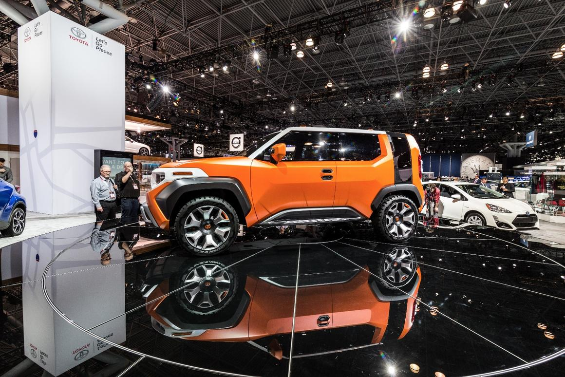 Toyota Ft 4X >> Toyota Ft 4x Concept Is Designed To Be A Casualcore Toolbox