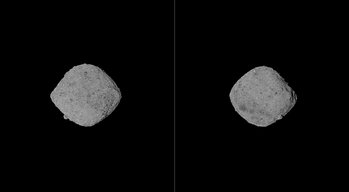 OSIRIS-REx has found traces of water on the asteroid Bennu