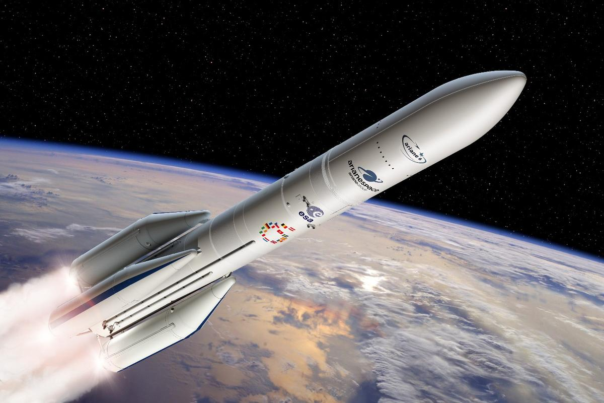 The P120C rocket motor will be used on the new-generation Ariane 6 launcher from 2020