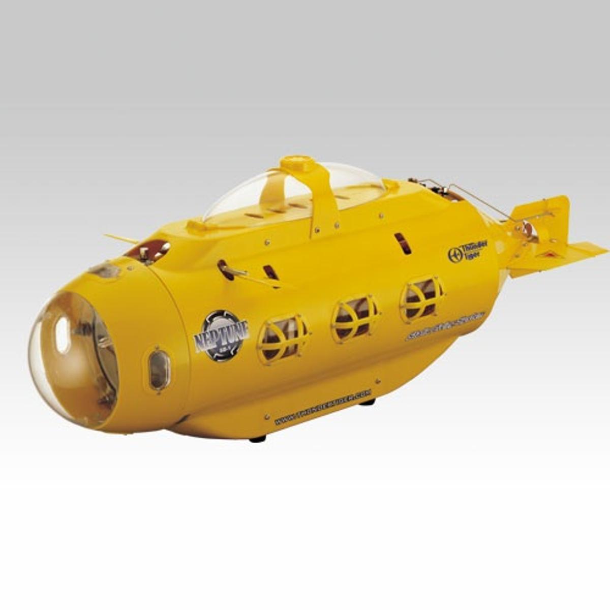 The Neptune SB-1 radio-controlled submarine