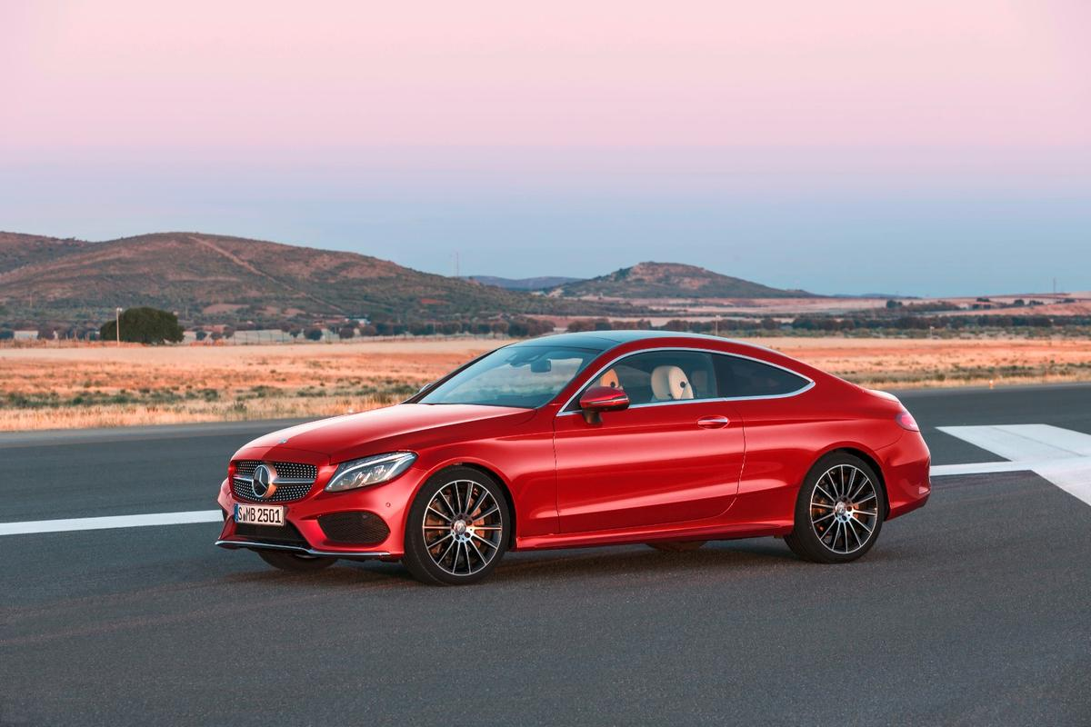 The new C-Class Coupe has been designed to provide a sportier alternative to the C-Class Sedan
