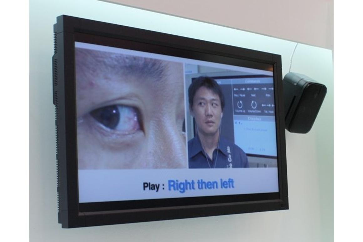 The eye-controlled earphones developed by DoCoMo could revolutionize the way we control our personal electronics