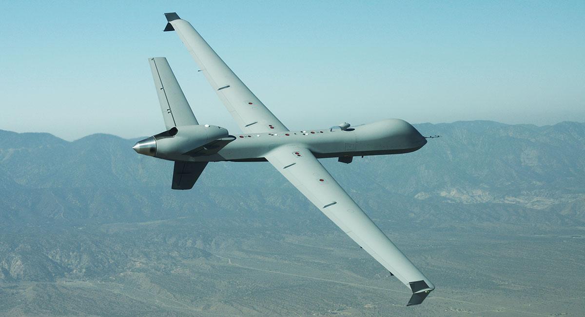 An MQ-9 RPA in flight