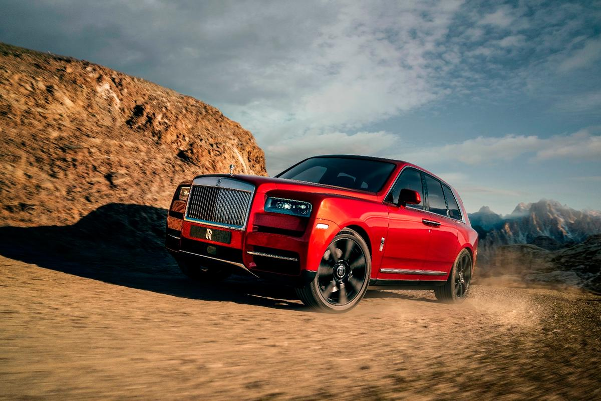 After years of teasing, Rolls-Royce reveals the Cullinan SUV