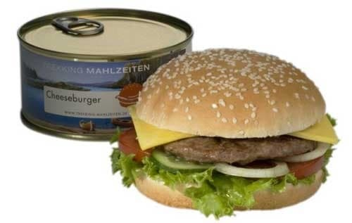 The cheeseburger in a can