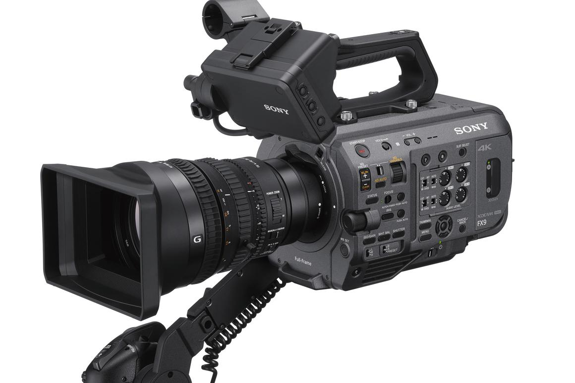 The PXW-FX9 will be able to record at 3,840 x 2,160 resolution at launch, which will increase to 4,096 x 2,160 after future update