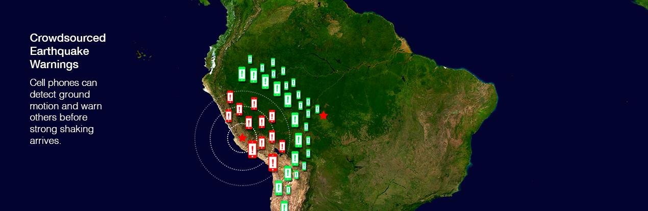 Plans call for ShakeAlert to be tested along the coast of Chile (Image: US Geological Survey)