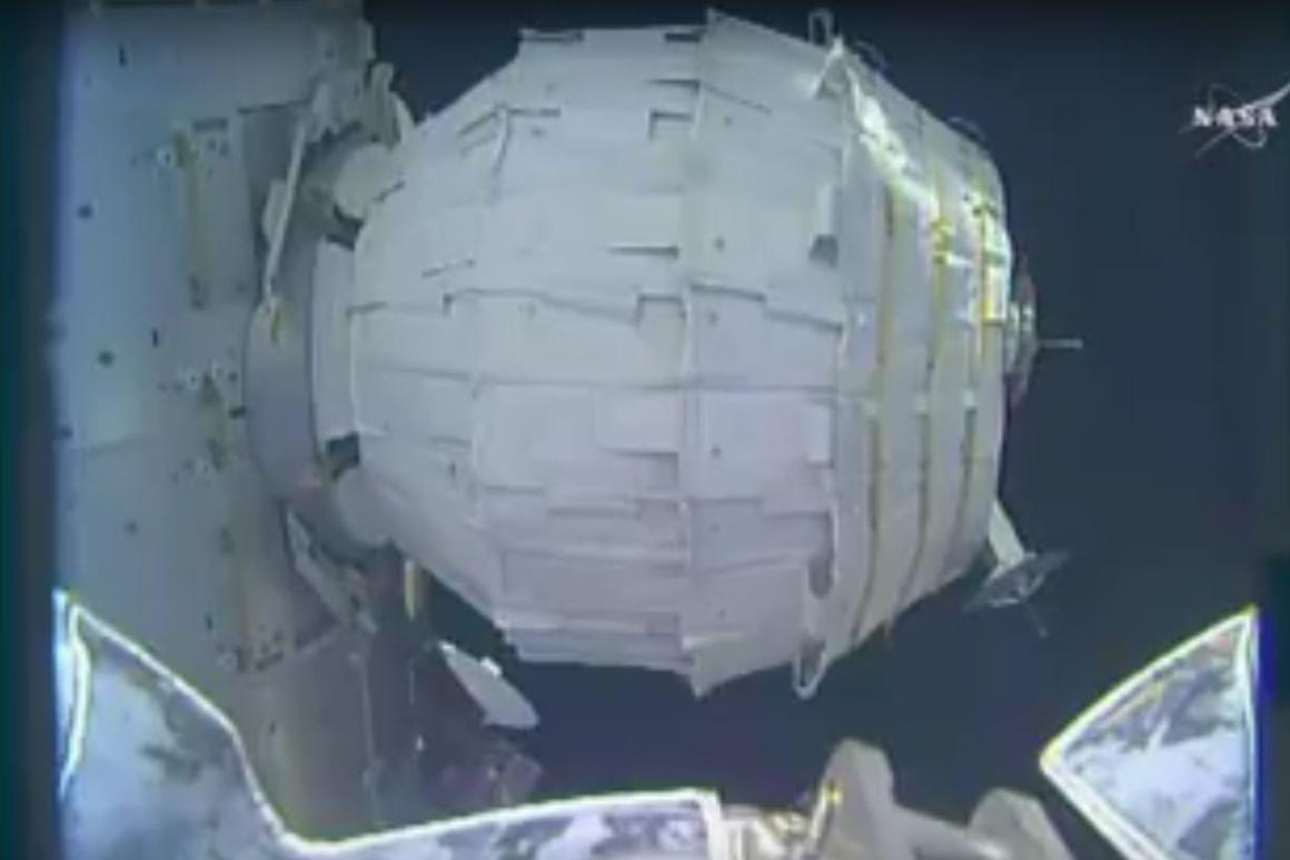 BEAM took over seven hours to inflate