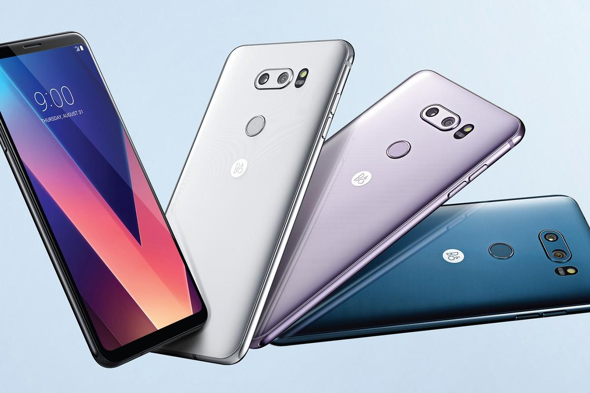 The new LG AI will be coming to a refreshed version of the LG V30 in 2018