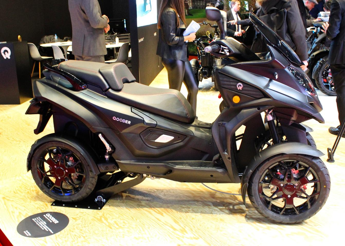 Quadro Qooder: on display at this year's Geneva Motor Show