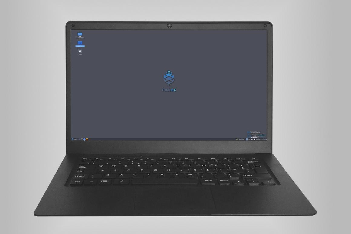 The Pinebook Pro from Pine64 comes with a six-core processing brain, 4 GB or RAM and 64 GB of solid state storage