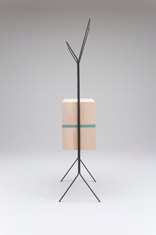 Maisonnette includes a clothes stand/mini-wardrobe