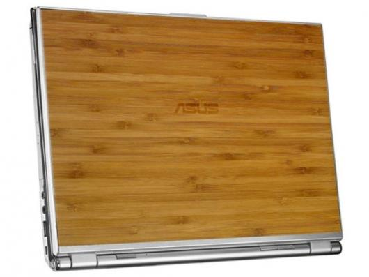The ASUS U6V Bamboo Notebook