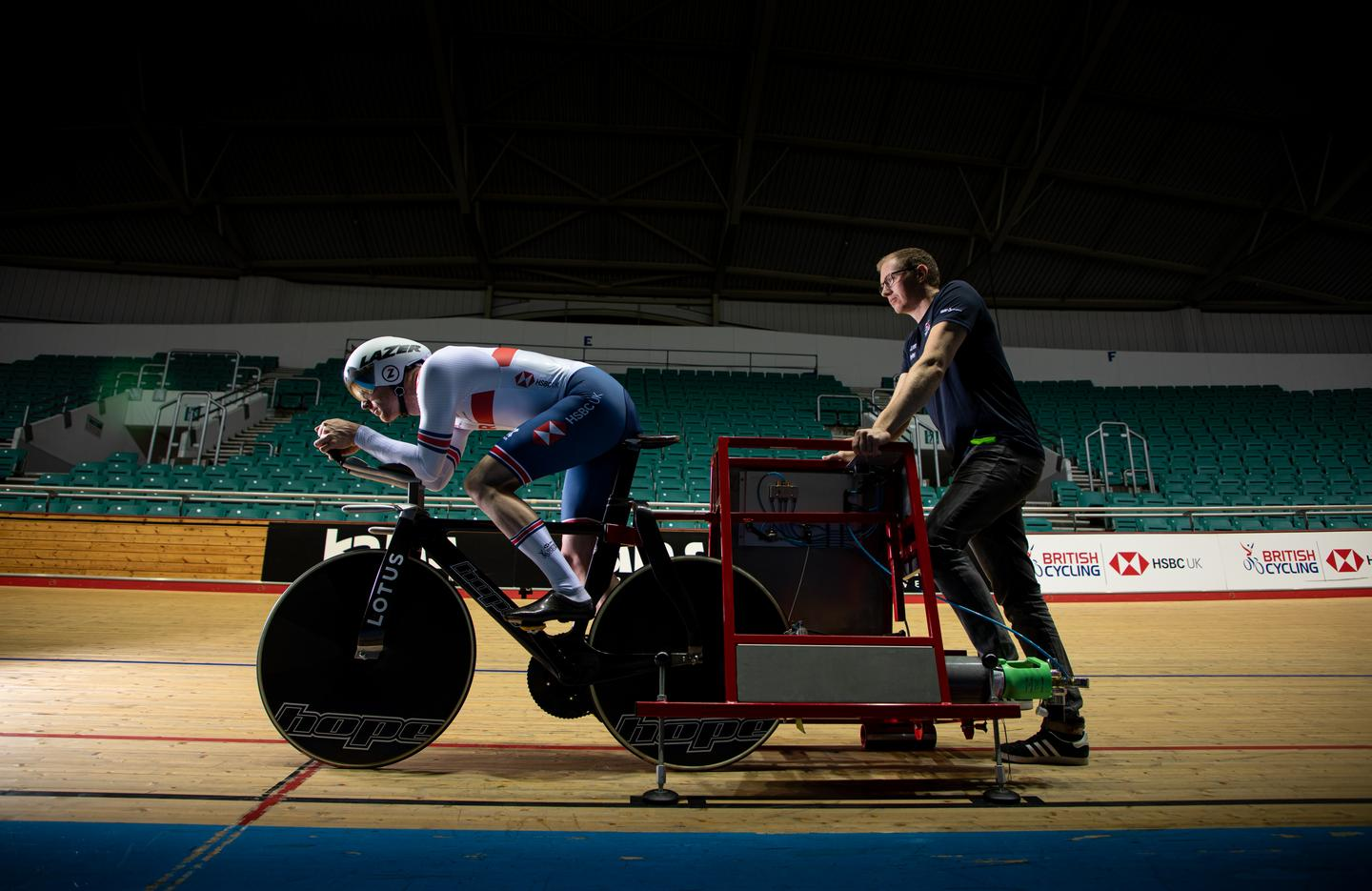 Lotus aims for cycling gold with new track bike
