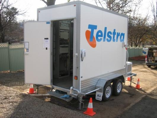 Australia's major telco, Telstra, has commissioned a Mobile Exchange on Wheels (MEOW) to help provide communications in wildfire and other disaster areas