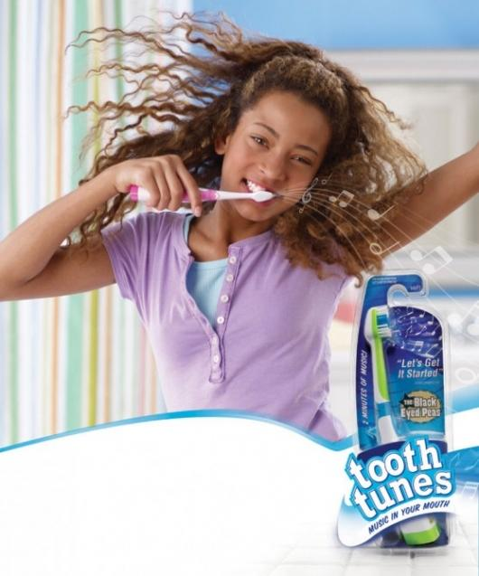 Toothtunes musical toothbrush