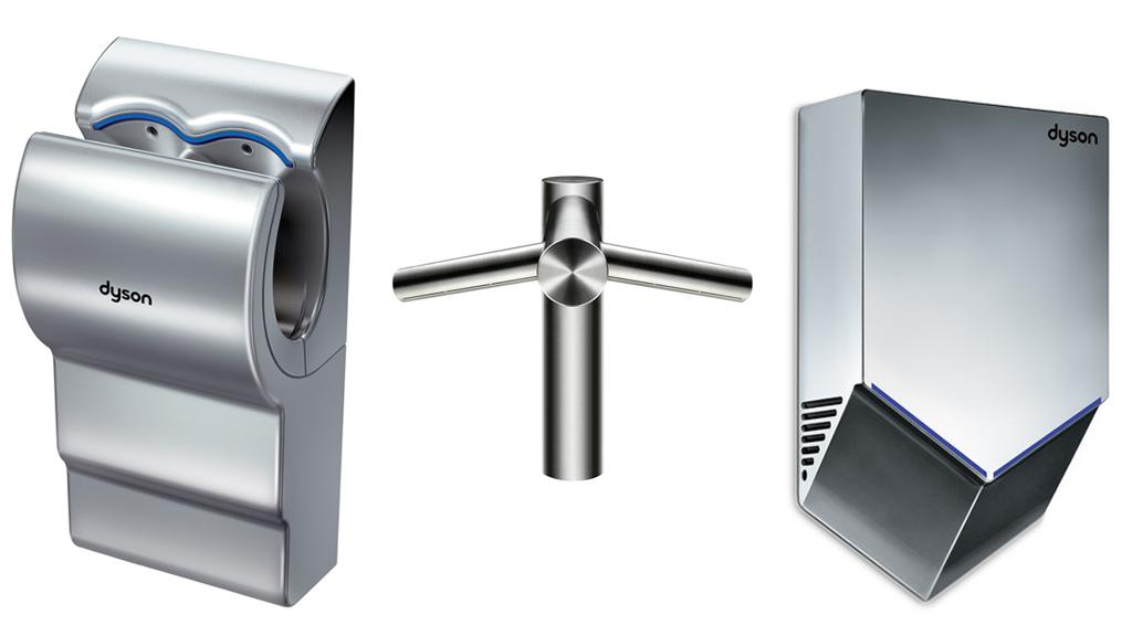 Dyson has expanded its Airblade line with the Airblade Mk2, Airblade Tap and Airblade V