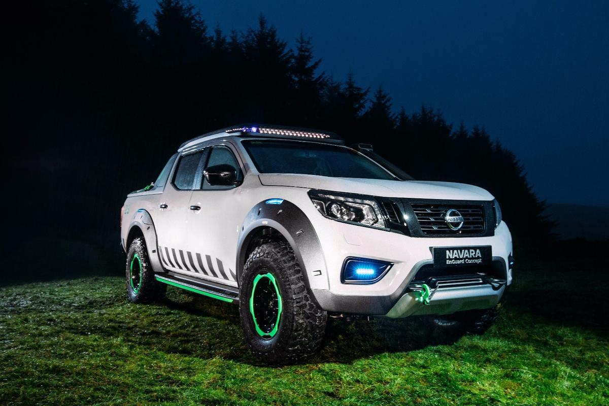 Nissan's all-new Navara EnGuard Concept