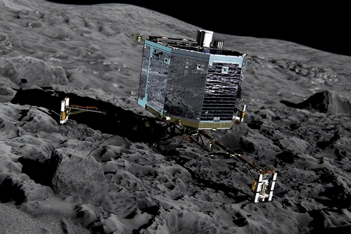 Philae carried out 80 percent of its planned initial scientific activities in the three days before it ran out of juice