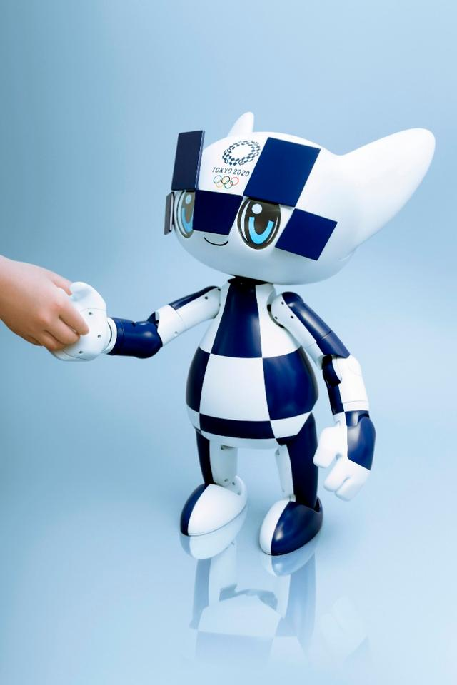 The job of Toyota's mascot robots will be to greet athletes and guests at the 2020 Olympics in Tokyo