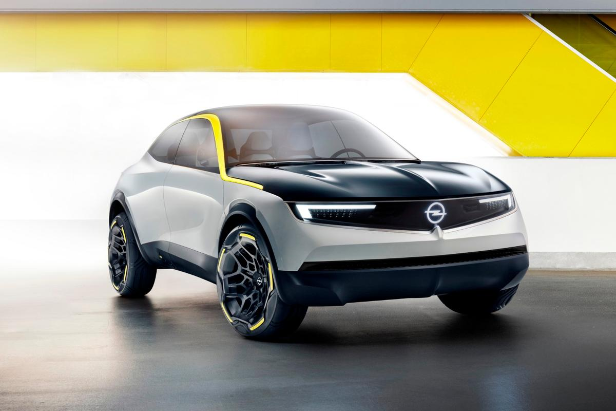 Opel's GT X Experimental concept isa harbinger of Opel's upcoming design language