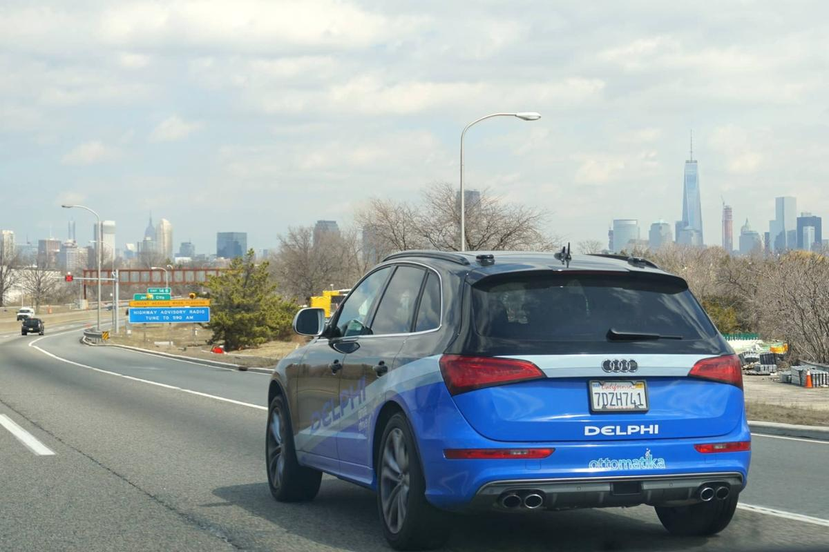 Both Delphi and Mobileye have experience with self-driving systems