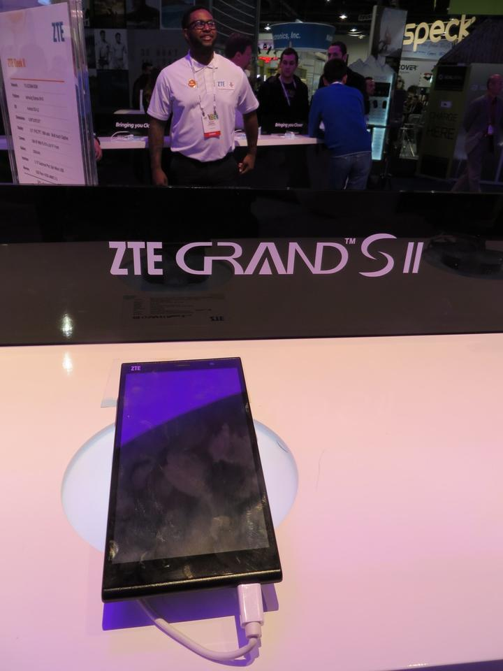 The Grand S II debuted at CES 2014