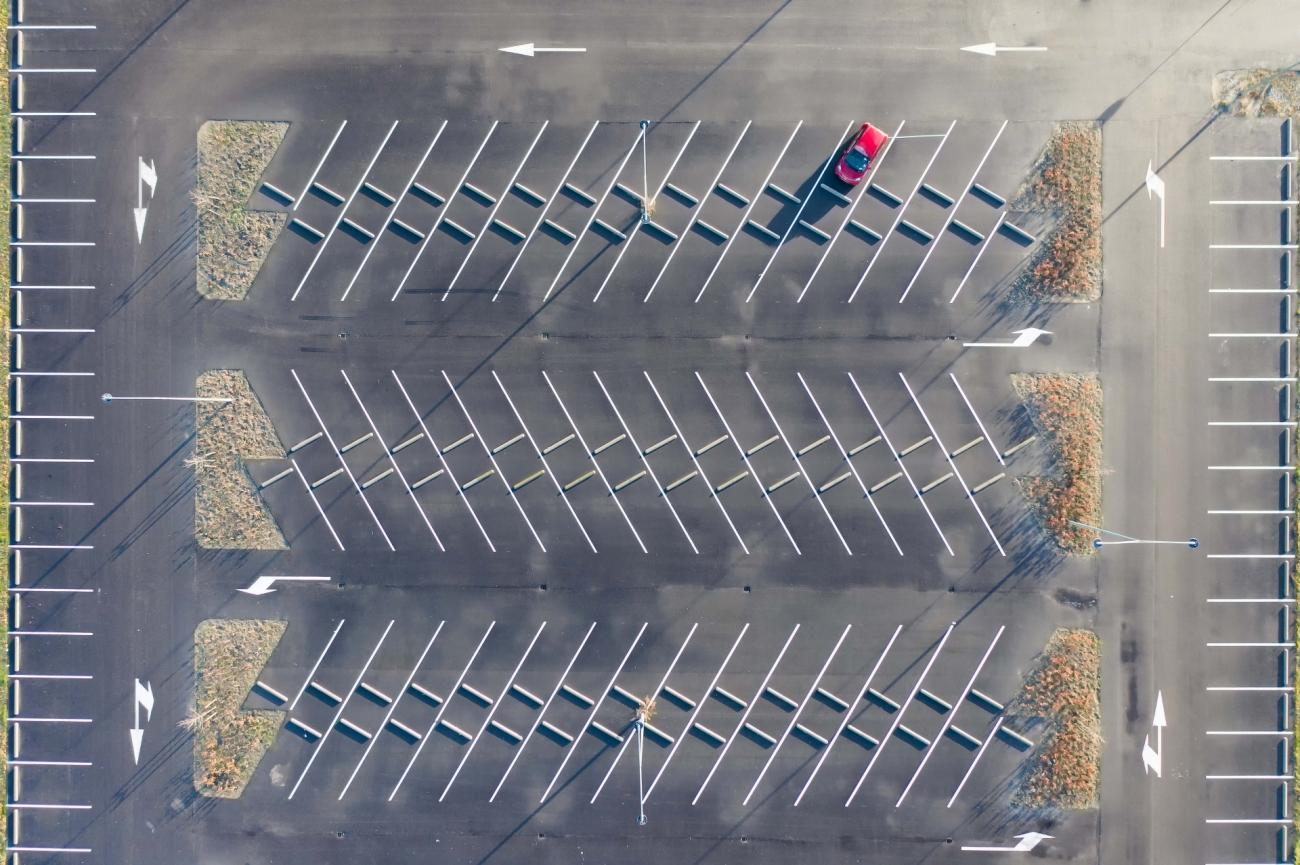 Commended - Life Under COVID-19. The Parking! Almere, Netherlands