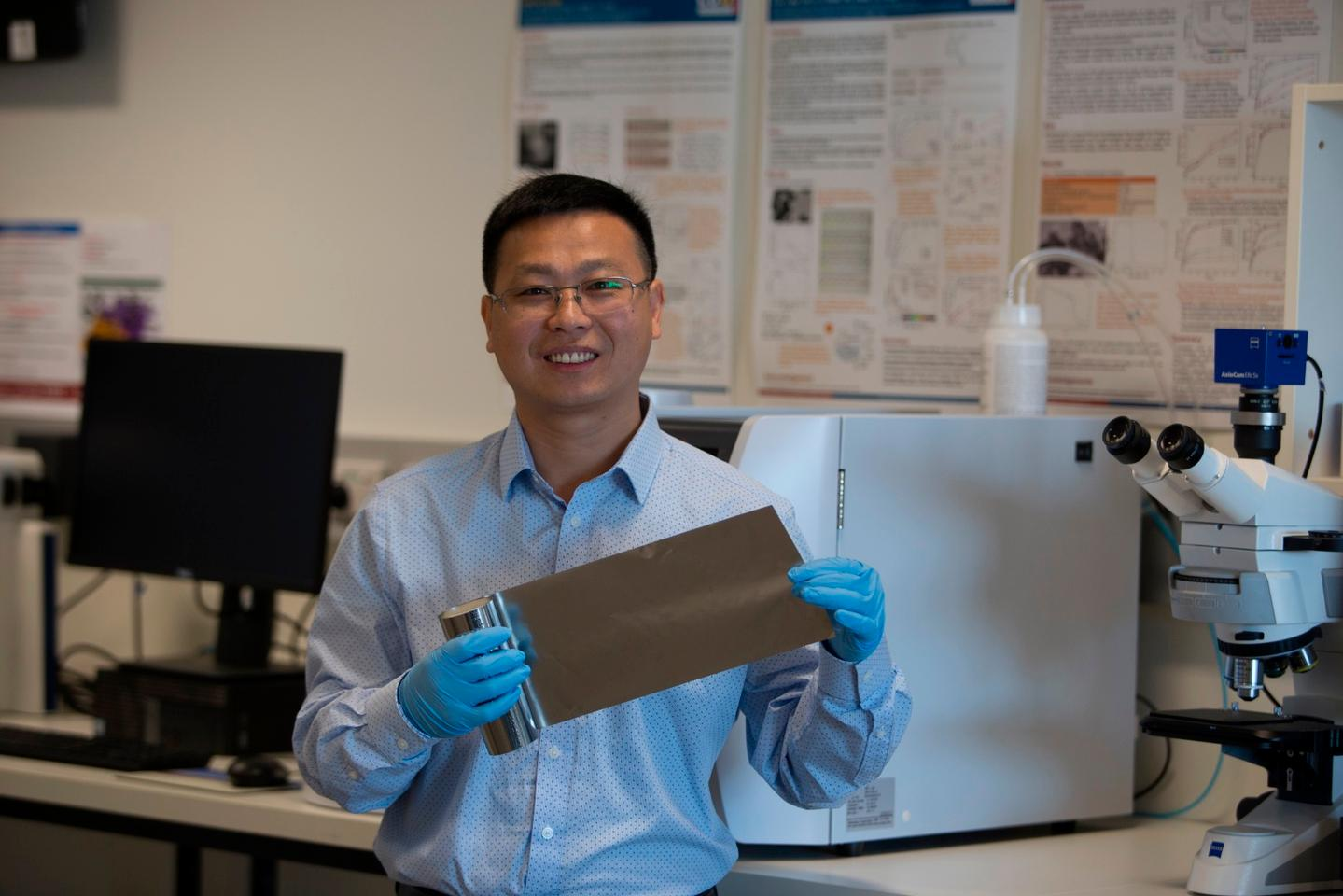 Laichang Zhang from Australia's Edith Cowan University has led the development of a new material that strips impurities from wastewater