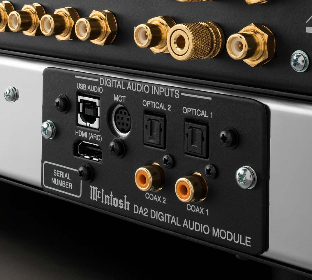 After making its debut in the McIntosh C53 preamp back in July, the DA2 module is now available as an upgrade kit