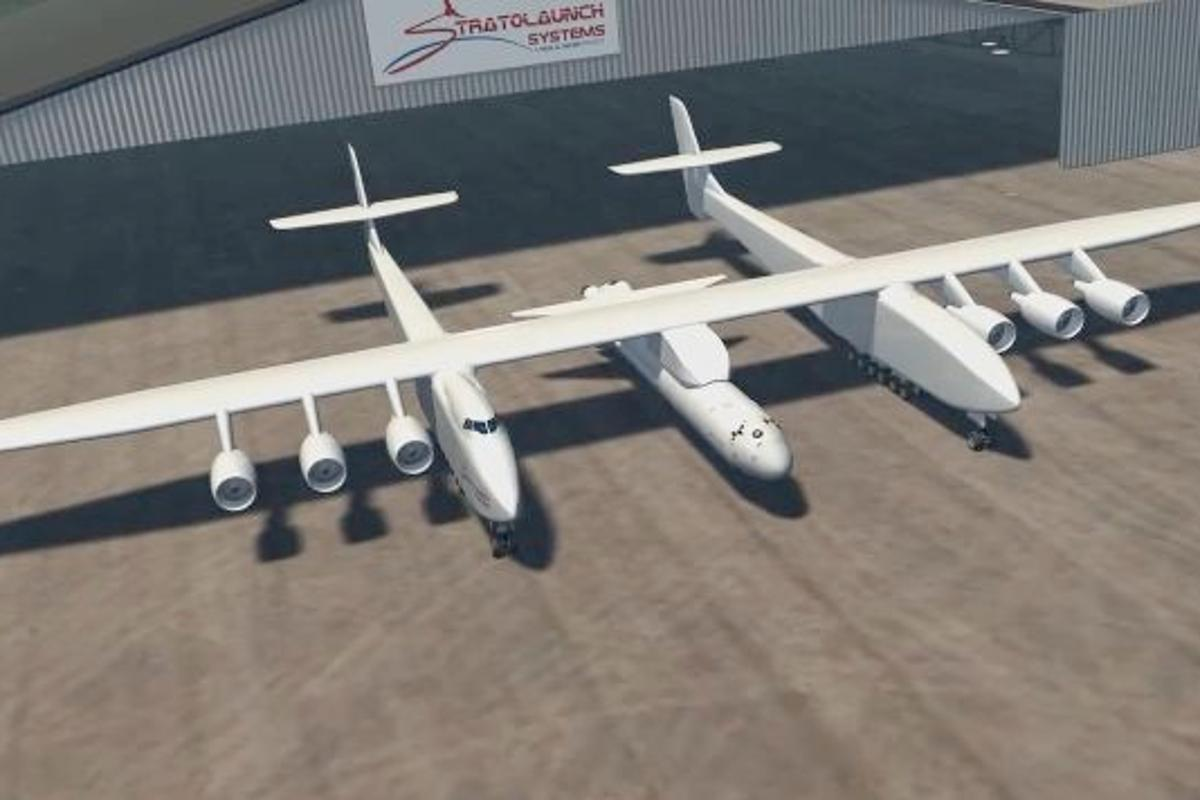 Stratolaunch Systems has announced its planned air-launch-to-orbit system, which will get spacecraft into orbit using the largest aircraft ever flown