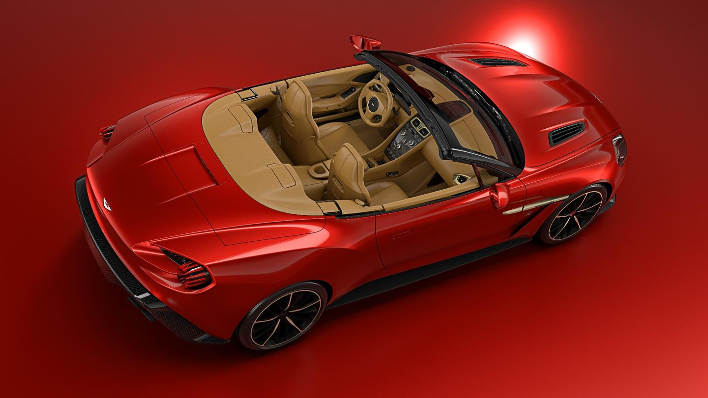 Even though it doesn't have the Zagato double-bubble roof, the Volante is still staggeringly beautiful