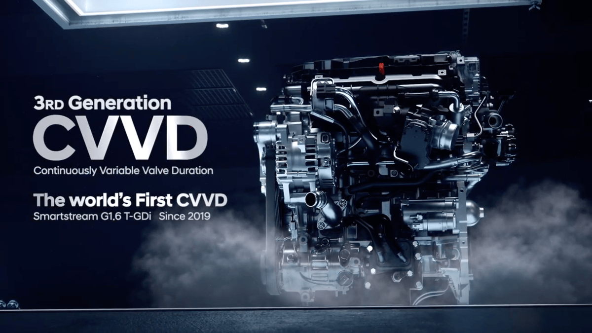 "Hyundai/Kia have announced what they term the ""world's first continuously variable valve duration"" system"