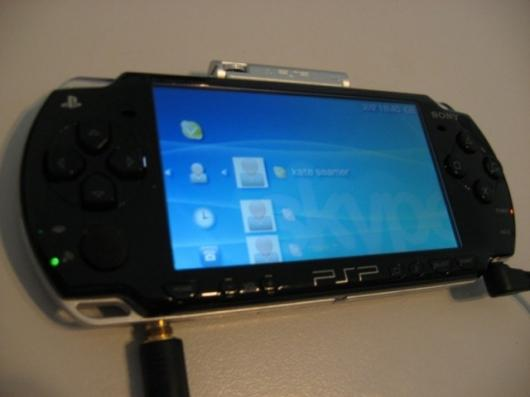 Skype on the PSP