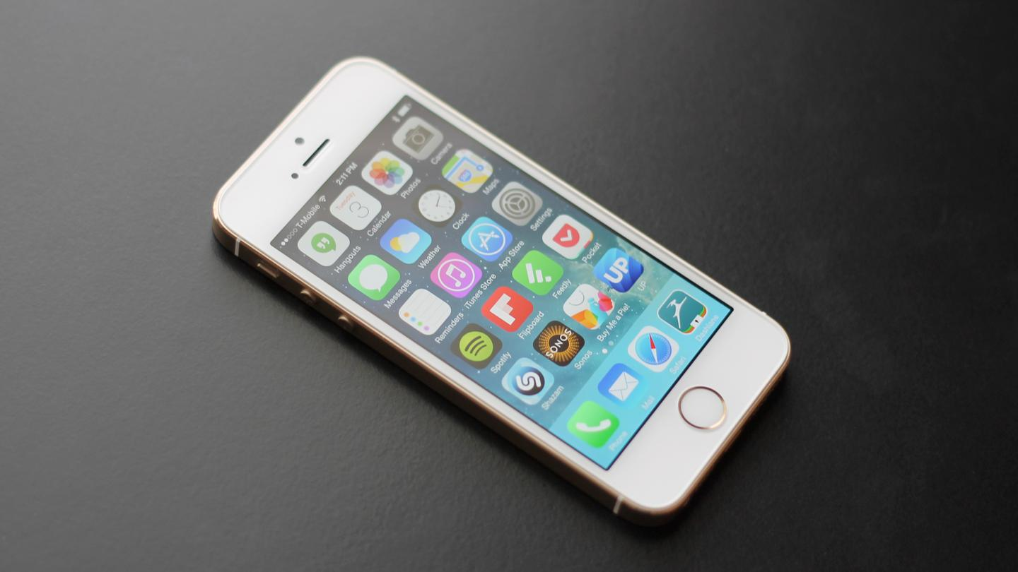 The iPhone 5s continues Apple trend of aluminum unibody designs