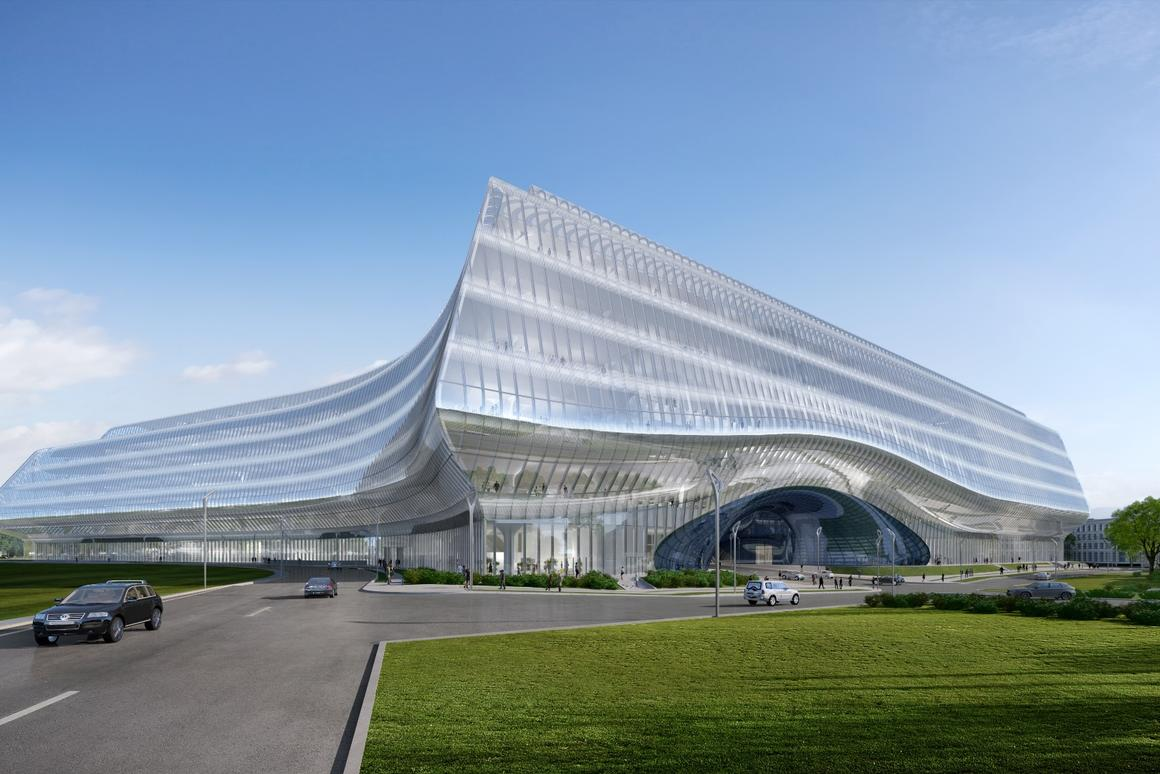 Zaha Hadid Designed Office To Rise In Russias Silicon Valley