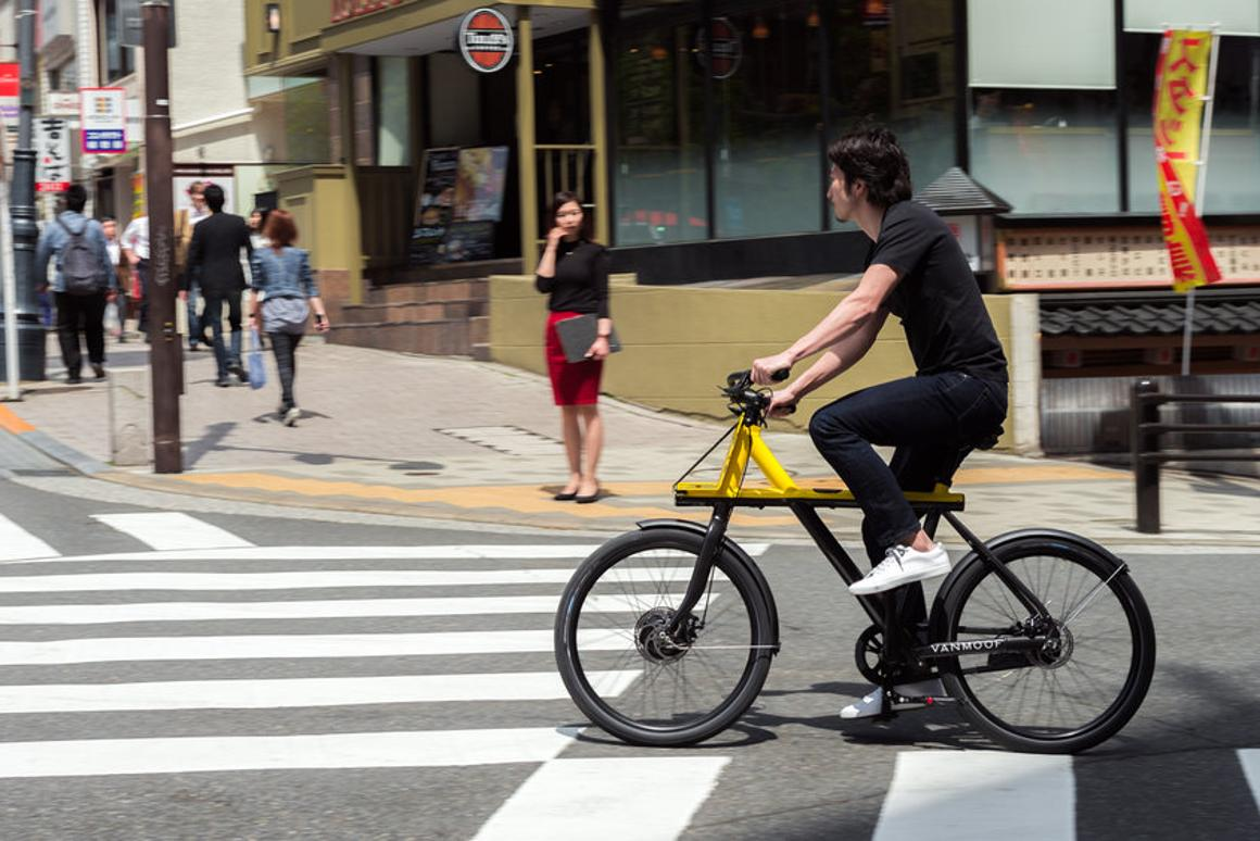 The Electrified X hits the streets of Tokyo