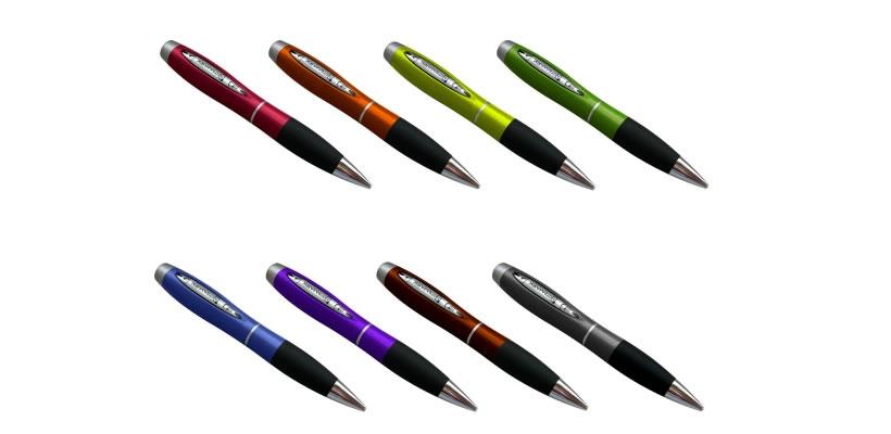 The NoteMark is available through various online retailers, comes in a variety of colors, and includes an ink cartridge and leather carrying case