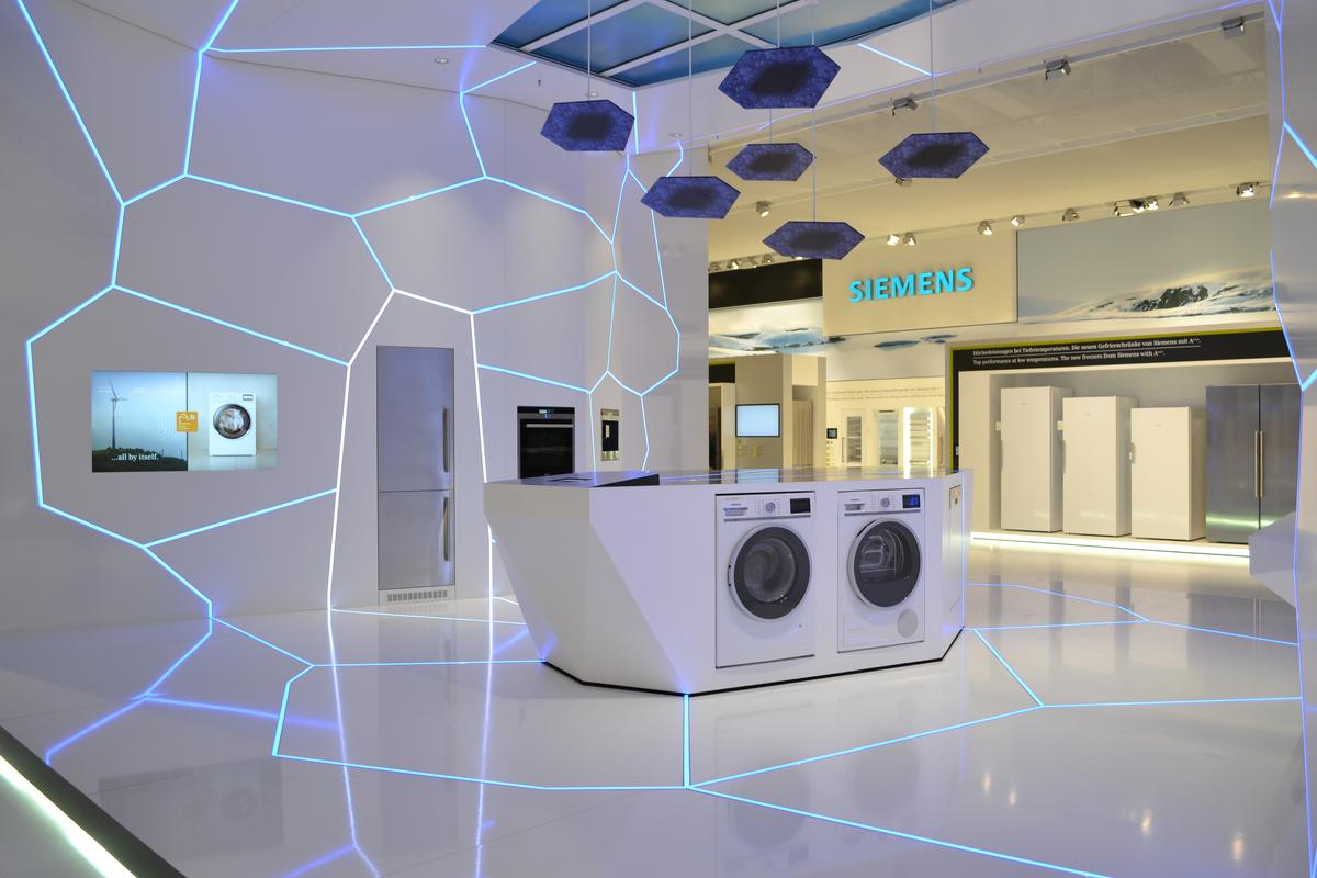 Siemens is displaying some of the home technologies it's developing, in its House of Innovations exhibit at IFA 2012